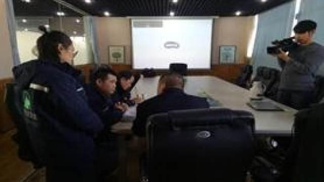 热烈欢迎天津河东区运管所领导与交...