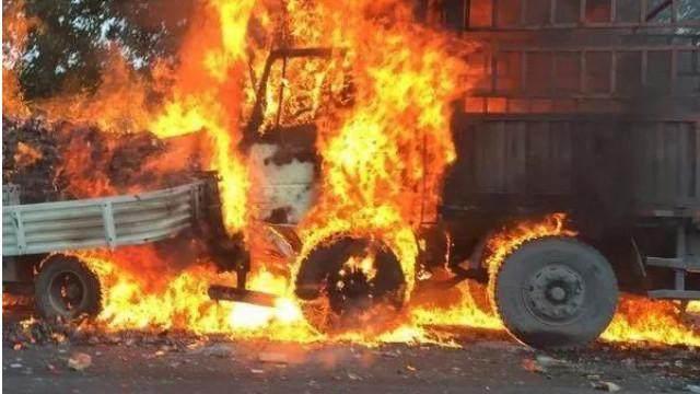 货车自燃事故频发,卡友们如何预防...